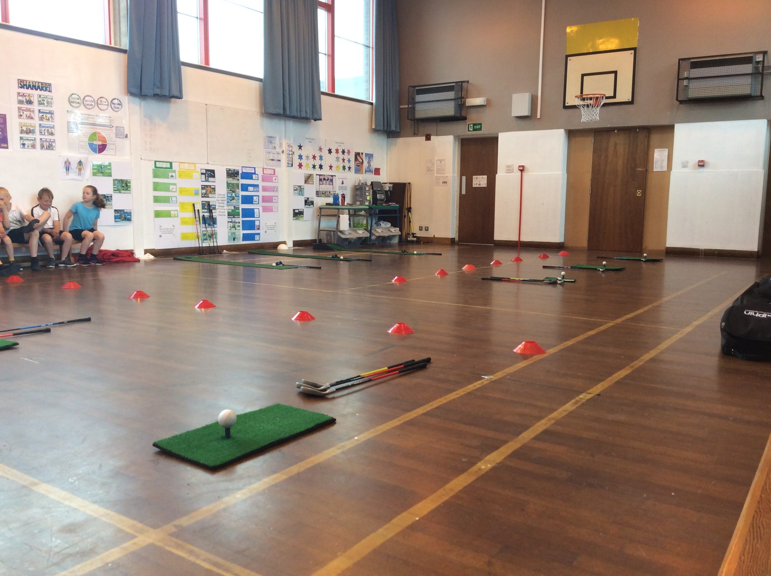 Golf Stations - Putting, Chipping & Full Swing